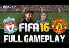 FIFA 16 MANCHESTER UNITED VS LIVERPOOL FULL GAMEPLAY [HD+ 60FPS PS4 / XBOX ONE]