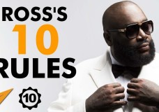 Rick Ross's Top 10 Rules For Success (@rickyrozay)