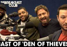 50 Cent, Gerard Butler, O'Shea Jackson Jr. & Pablo Schreiber Interview