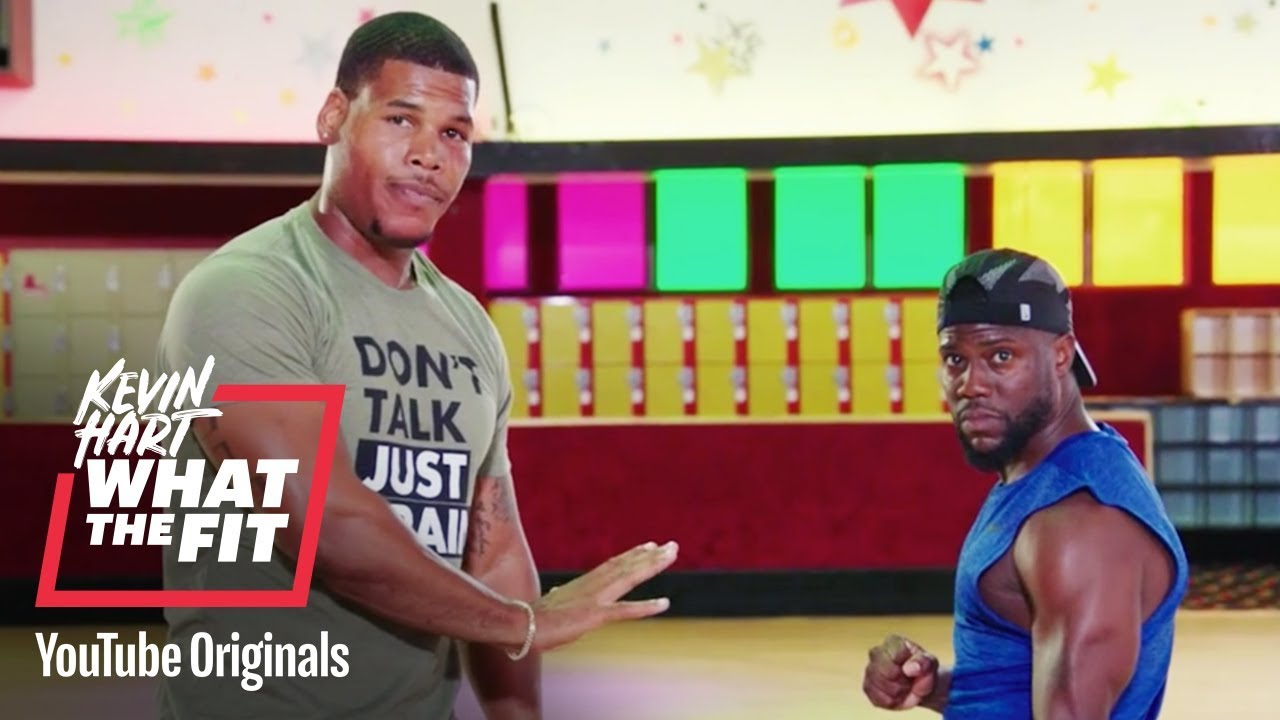 Slide Into Strength | Kevin Hart: What The Fit | Laugh Out Loud Network